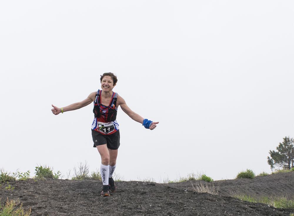 Arrivo sulla cima | Vesuvio Ultra Marathon