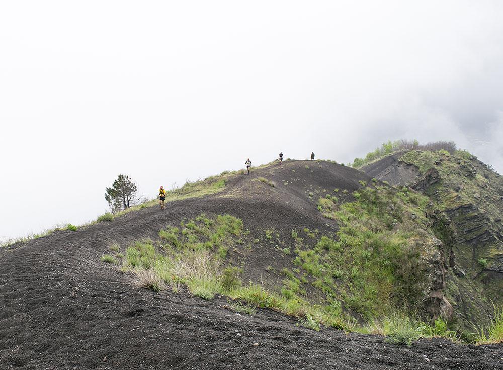 Scatto percorso Vesuvio Ultra Marathon