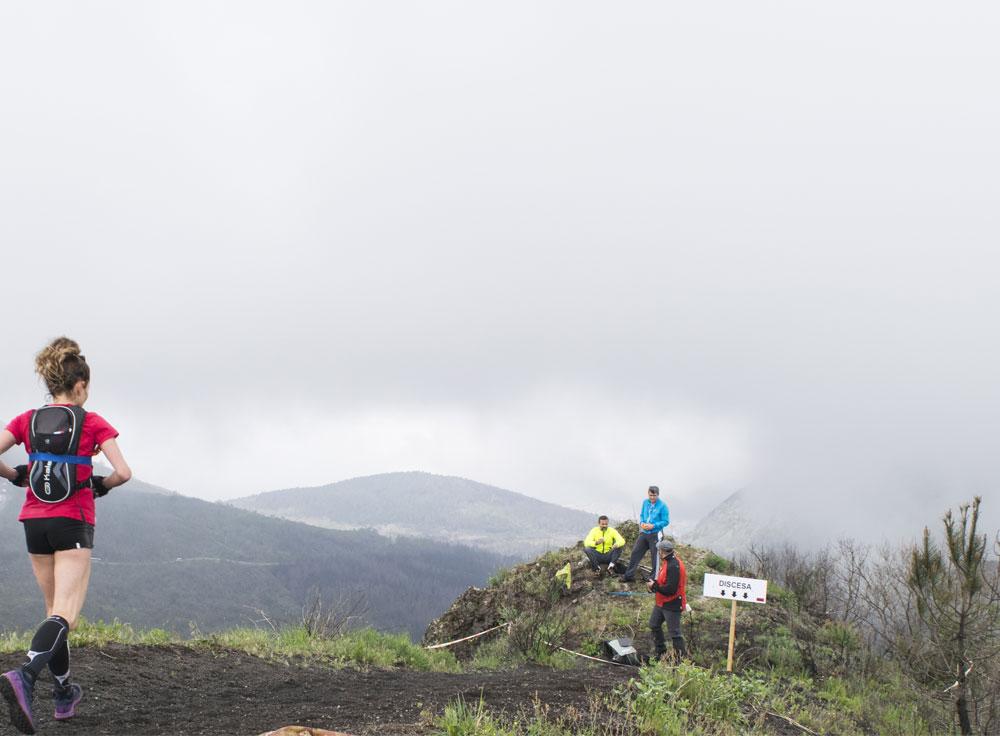 Salita percorso Vesuvio Ultra Marathon