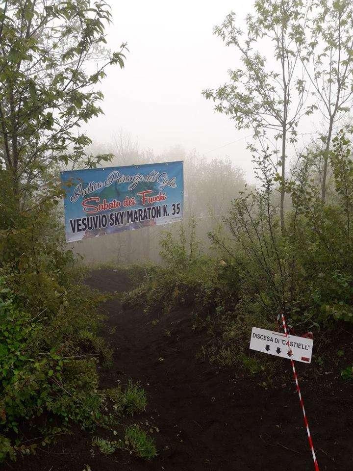 Arrivo Vesuvio Ultra Marathon