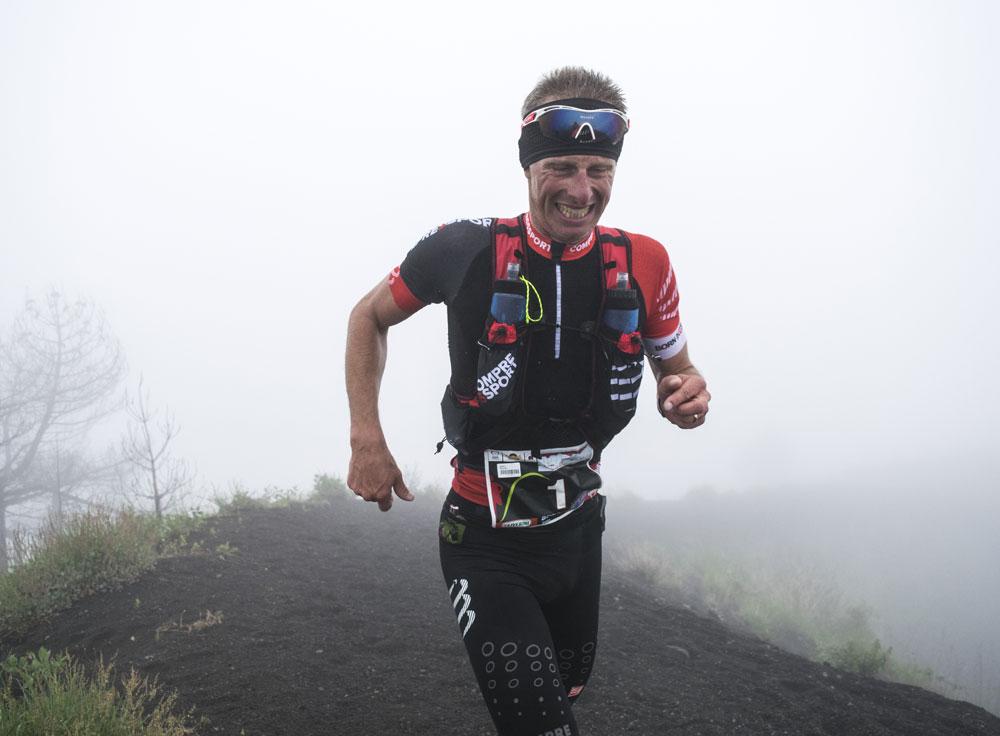 Arrivo sui Cognoli | Vesuvio Ultra Marathon