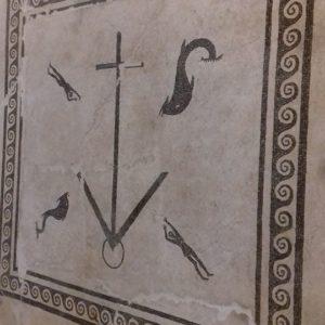 Mosaico ritrovato ad Ottaviano