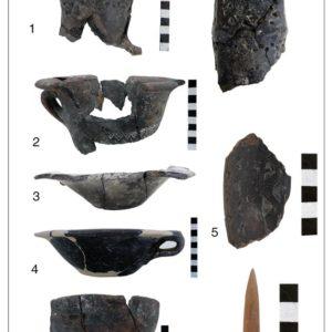 Reperti del Bronzo Antico ritrovati ad Ottaviano