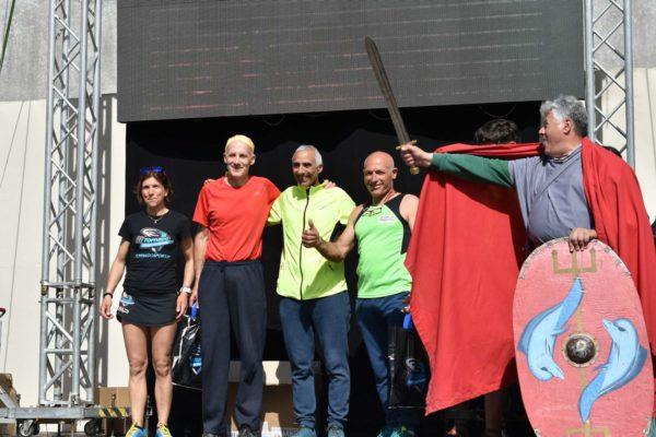 Podio della Vesuvio Ultra Marathon 2019